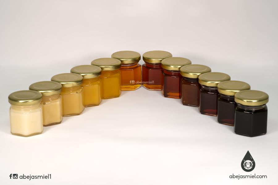 ¿Por qué hay mieles de distintos colores?¿El color indica si es miel auténtica?